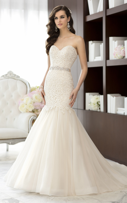 """This is the dress that I said """"yes"""" to."""