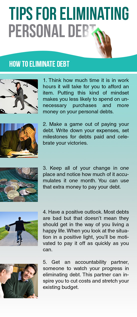 Tips For Eliminating Personal Debt